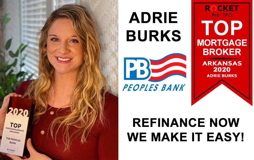 Adrie Burks Top Mortgage Broker in Arkansas