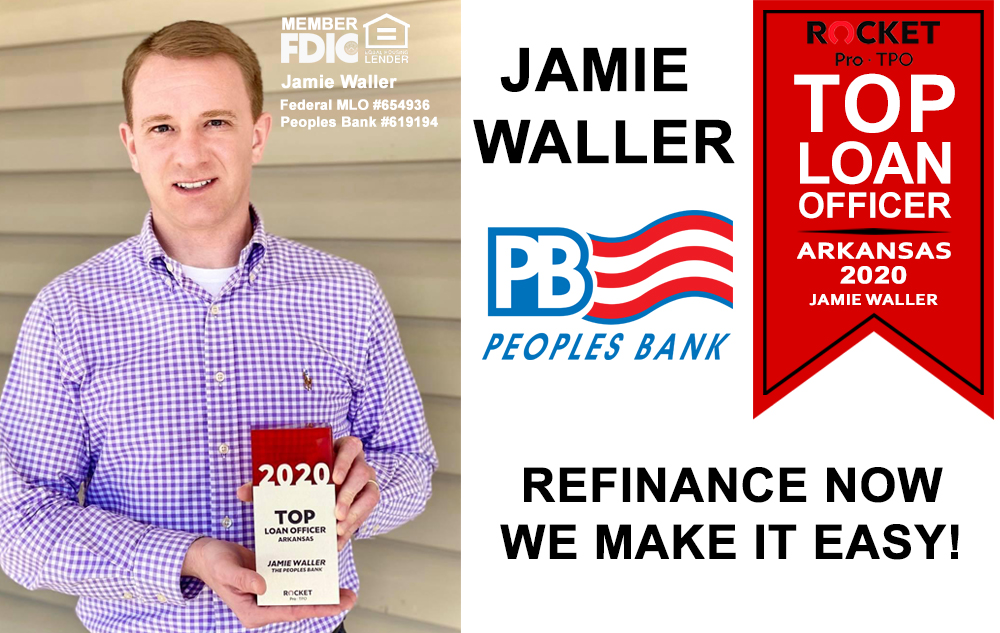 Jamie Waller Top Loan Officer in Arkansas
