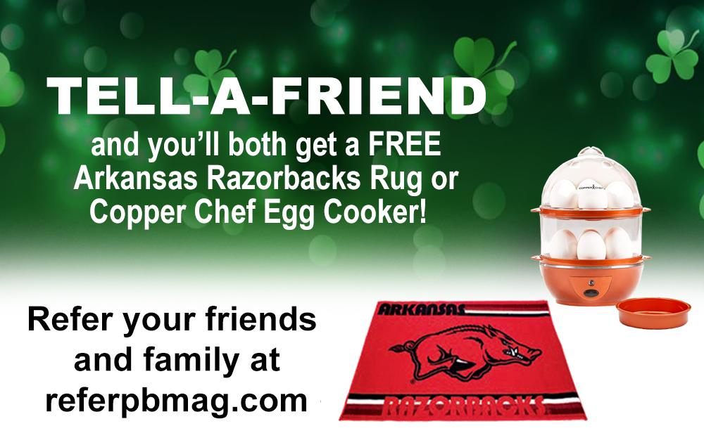 Tell a Friend get a free gift